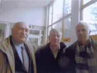 29 noiembrie 2017, Tg. Mureş. De la stânga la dreapta, Dimitrie Poptămaş, Dumitru Covalciuc şi Ciprian Bojescu Ultima fotografie împreună, ca un fel de rămas bun...