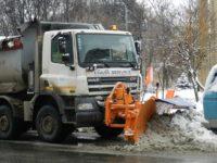 Circulaţia rutieră din judeţ se desfăşura în condiţii de iarnă