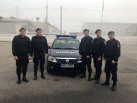 Cinci elevi ai Şcolii Militare de Subofiţeri Jandarmi Fălticeni au salvat viaţa unui bărbat care şi-a dat foc accidental