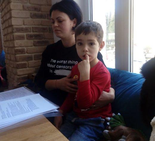 Mihnea, un copil frumos şi curajos, are nevoie de generozitatea oamenilor