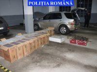 Urmăriri în trafic şi pe jos pentru reţinerea unui contrabandist