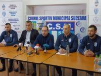 """Echipa CSM Suceava face un apel la o abordare mai """"rotundă"""" a problemelor legate de jocul cu balonul oval"""