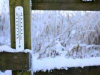Temperatura resimţită la Poiana Stampei, minus 33 de grade Celsius !