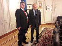 Deputatul Cătălin Nechifor s-a întâlnit cu omologul său din Parlamentul francez, Frédéric Petit