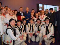 Polonezii din Bucovina, oaspeţi ai cuplului prezidenţial al Republicii Polone