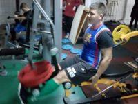 Tânărul Robert Cuzeac, de la LPS Suceava, în pregătiri cu lotul naţional U18 al României