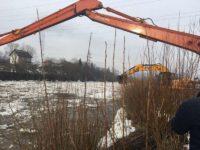 Circa 1.300 de metri de sloiuri de gheaţă periculoase eliberate de SGA pe râurile Bistriţa şi Dorna