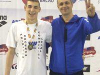 Şase medalii pentru înotătorul sucevean Florin Cotos