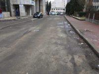 Au început lucrările de reabilitare a străzii Vasile Bumbac