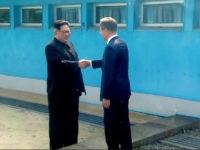 Kim Jong Un și Moon Jae-in au ajuns faţă în faţă