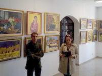 """Expoziţia """"Stări"""", a pictorului David Croitor"""