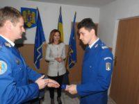 Jandarmi suceveni înaintaţi în grad de Ziua Jandarmeriei Române