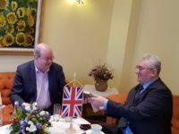Primarul Ion Lungu a prezentat ambasadorului Marii Britanii oportunităţile din municipiul Suceava