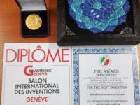 Medalie de aur obţinută de USV la Salonul internaţional de inventică de la Geneva