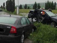 Carambol cu trei maşini implicate şi pierderea unei vieţi omeneşti
