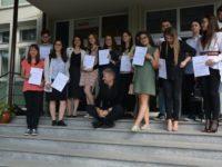 """Certificatele Deutsches SprachDiplom (DSD), înmânate elevilor Colegiului Naţional """"Petru Rareş"""""""