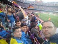 """Trei tineri suceveni de perspectivă, la Barcelona, cu echipa """"Performanţa are viitor – 2018"""""""