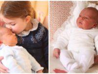Primele fotografii oficiale cu prinţul Louis, publicate de Casa Regală britanică
