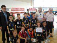Liceenii căjvăneni, pe locul întâi la etapa naţională a Olimpiadei Naţionale a Sportului Şcolar la fotbal