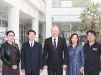 Reprezentanţi ai Universităţii de Ştiinţă şi Tehnologie din Hebei, China, în vizită la USV