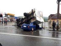 Accident rutier terifiant petrecut ieri dimineaţă la Câmpulung