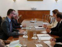 Preşedintele Gheorghe Flutur a discutat cu reprezentanţii Camerei Federale de Comerţ şi Industrie a Austriei despre investiţii în judeţul Suceava