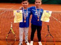 Micii tenismeni suceveni, în fruntea tenisului naţional