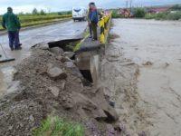 Podul de la Milişăuţi, peste râul Suceava, în pericol de prăbuşire !