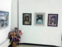 Imagini din expozitia de acuarela Ion Moraru de la Chisinau