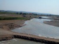 Podul provizoriu de la Milişăuţi, închis ieri din cauza unei fisuri