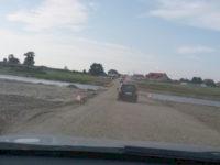 Un pod rutier provizoriu pentru trafic uşor va fi deschis, miercuri, la Milişăuţi