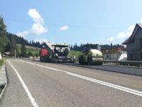 DRDP Iaşi anunţă că derulează mai multe lucrări de întreţinere a drumurilor naţionale din judeţul Suceava