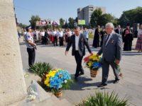 Primarul Ion Lungu a participat la Zilele Oraşului Soroca şi la sărbătorirea a 27 de ani de independenţă a Republicii Moldova