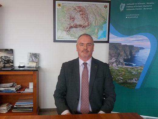 Ambasadorul Irlandei se va întâlni cu reprezentanţi ai mediului de afaceri sucevean