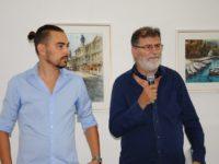 """""""Fereastră în Corfu"""" deschisă spre atmosfera lucrărilor lui Alexandros Pintilii Karciukas"""
