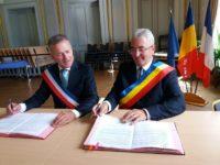 Ion Lungu, în Franţa, a reînnoit parteneriatul cu oraşul Laval încheiat în 2010