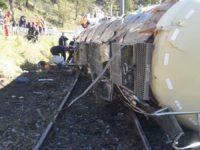 Circulaţia feroviară a fost blocată aproximativ 4 ore