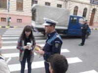 Consiliere poliţienească pentru traversarea neregulamentară