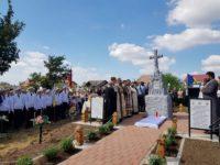 """Cimitirul eroilor Primului Război Mondial din Burdujeni, reabilitat cu sprijinul Filialei Suceava """"Plăieşii"""" a Asociaţiei Naţionale Cultul Eroilor """"Regina Maria"""""""