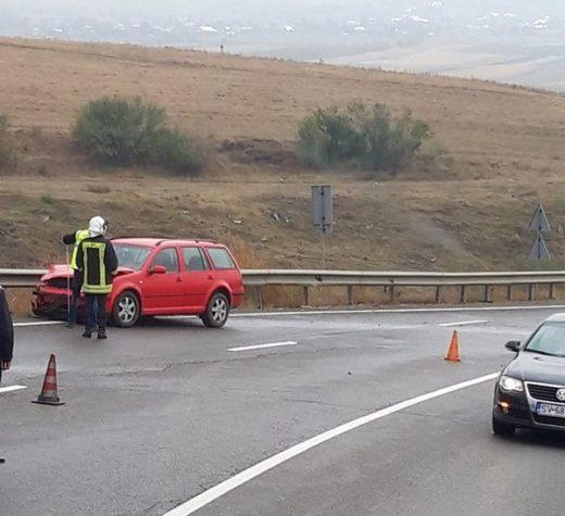 Şapte persoane rănite, în urma unui accident produs pe DN 17, în afara localităţii Stroieşti