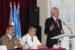 """Excelenţa Sa ambasadorul SUA în România în vizită la Colegiul Naţional Militar """"Ştefan cel Mare"""""""