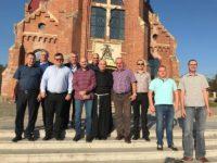 Delegaţie din Polonia, în vizită la Cajvana