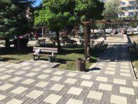 Lucrările de reabilitare a parcului de lângă Policlinica Areni se apropie de final