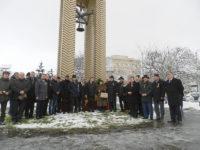Social-democraţii suceveni, singurii care au depus coroane de flori la monumentul Unirii Bucovinei cu Patria Mamă