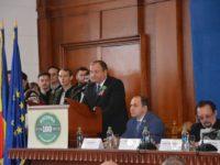 Şedinţa solemnă la Centenarul Unirii Bucovinei cu România a început în sunetele clopotelor Putnei şi Voroneţului