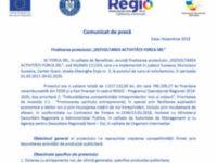 """Finalizarea proiectului """"DEZVOLTAREA ACTIVITĂȚII FORCA SRL"""""""