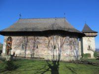 Mănăstirea Humorului, în secvenţe cronicale din urmă cu o sută de ani