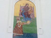 Mozaicuri cu chipurile făptuitorilor Marii Uniri, pe faţada Vilei Alice