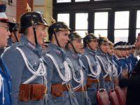 Atmosfera de acum 100 de ani din Bucovina, recreată în sala de festivităţi a Gării Burdujeni
