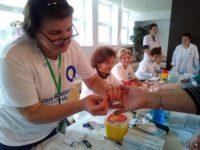 Campanie de testare gratuită a glicemiei